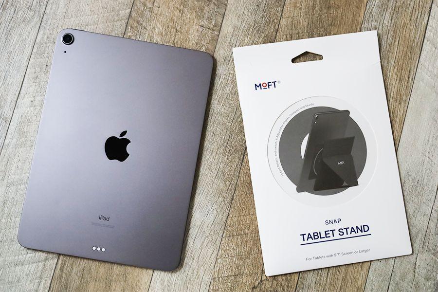 iPad用MOFT X改良型を確認する