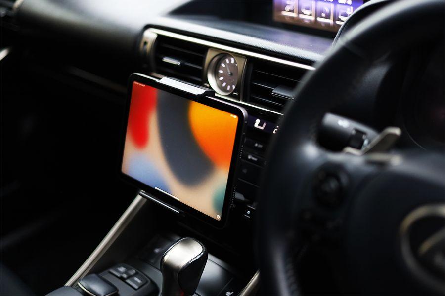 iPad mini 6は車内を快適にできる