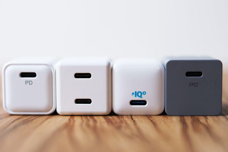 CIO-PD20Wと他の充電器ポート部分確認