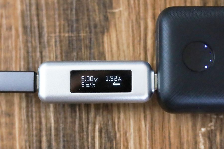 Anker PowerCore 10000 PD Redux 25WでiPhoneを計測約20W
