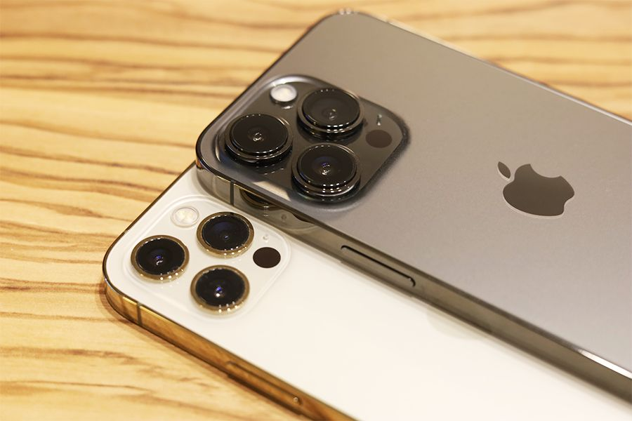 iPhone 12 ProとiPhone 13 Proの比較カメラ部分