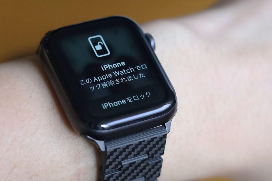 Apple WatchはiPhoneで解除できるようになった