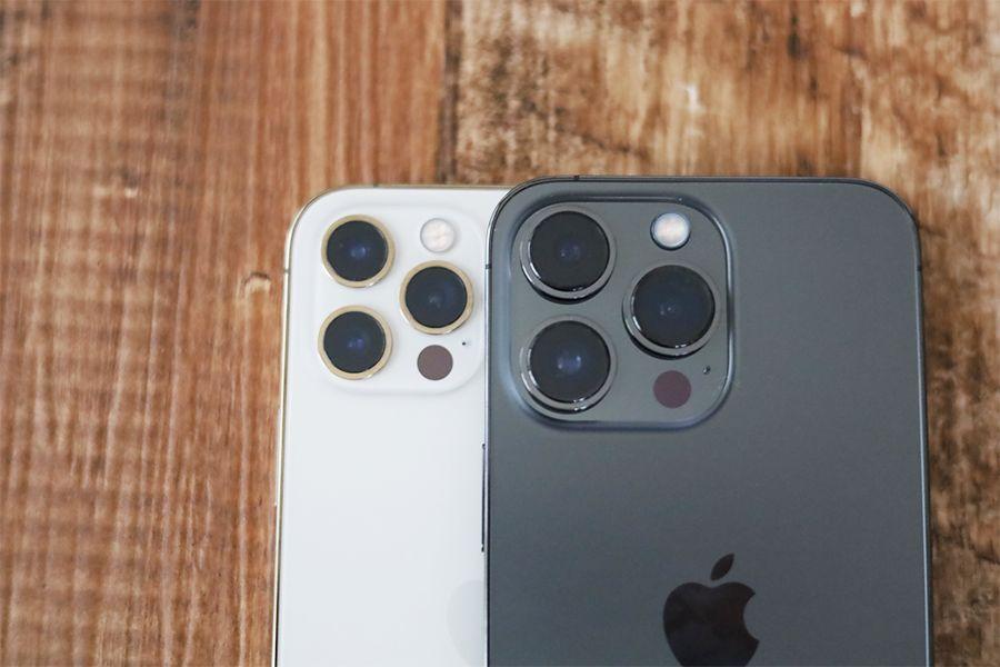 iPhone 12 ProとiPhone 13 Proと比較で違う部分はやはりカメラ性能