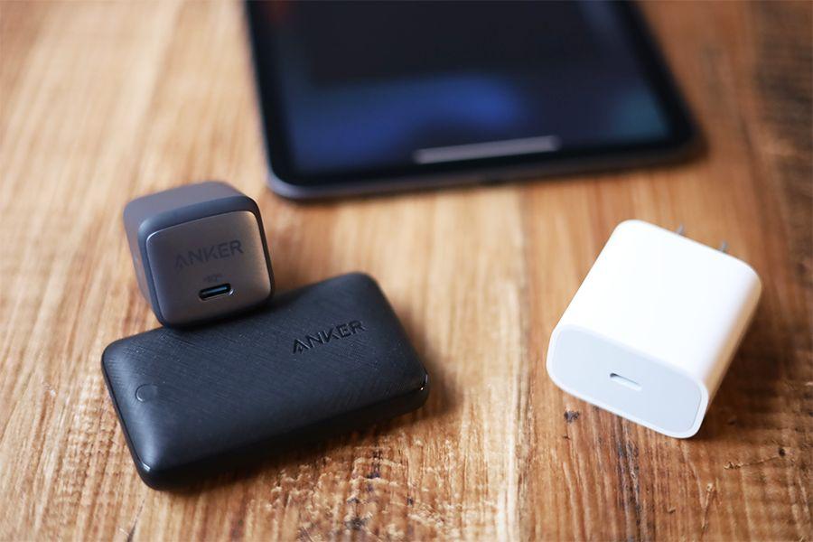 IPad mini 6の充電器は純正が微妙なので準備したほうがよい